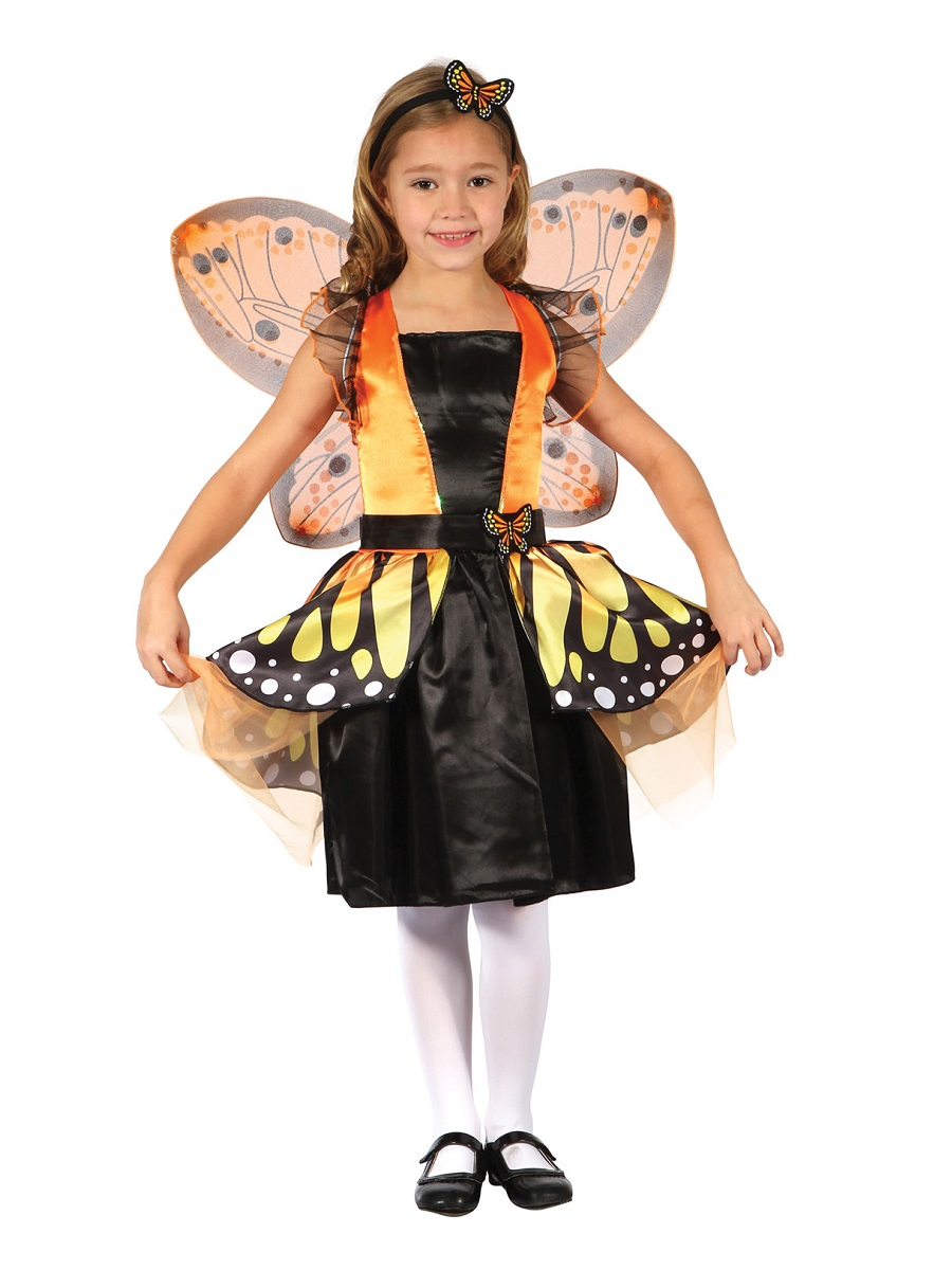 Child Butterfly Fairy Costume Cc285 Fancy Dress Ball