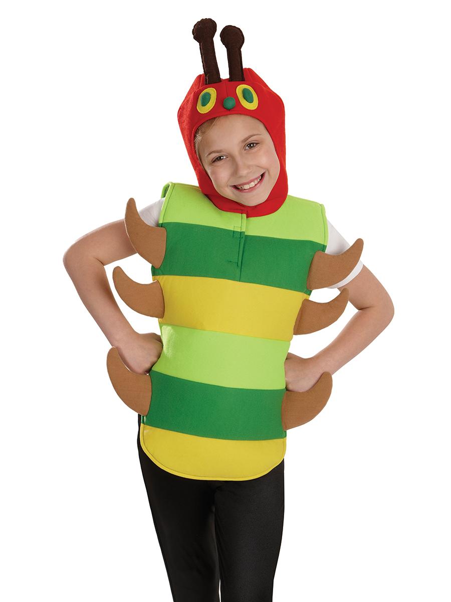 Children's Kids Boys Girls Hungry Caterpillar Fancy Dress Up Costume Outfit