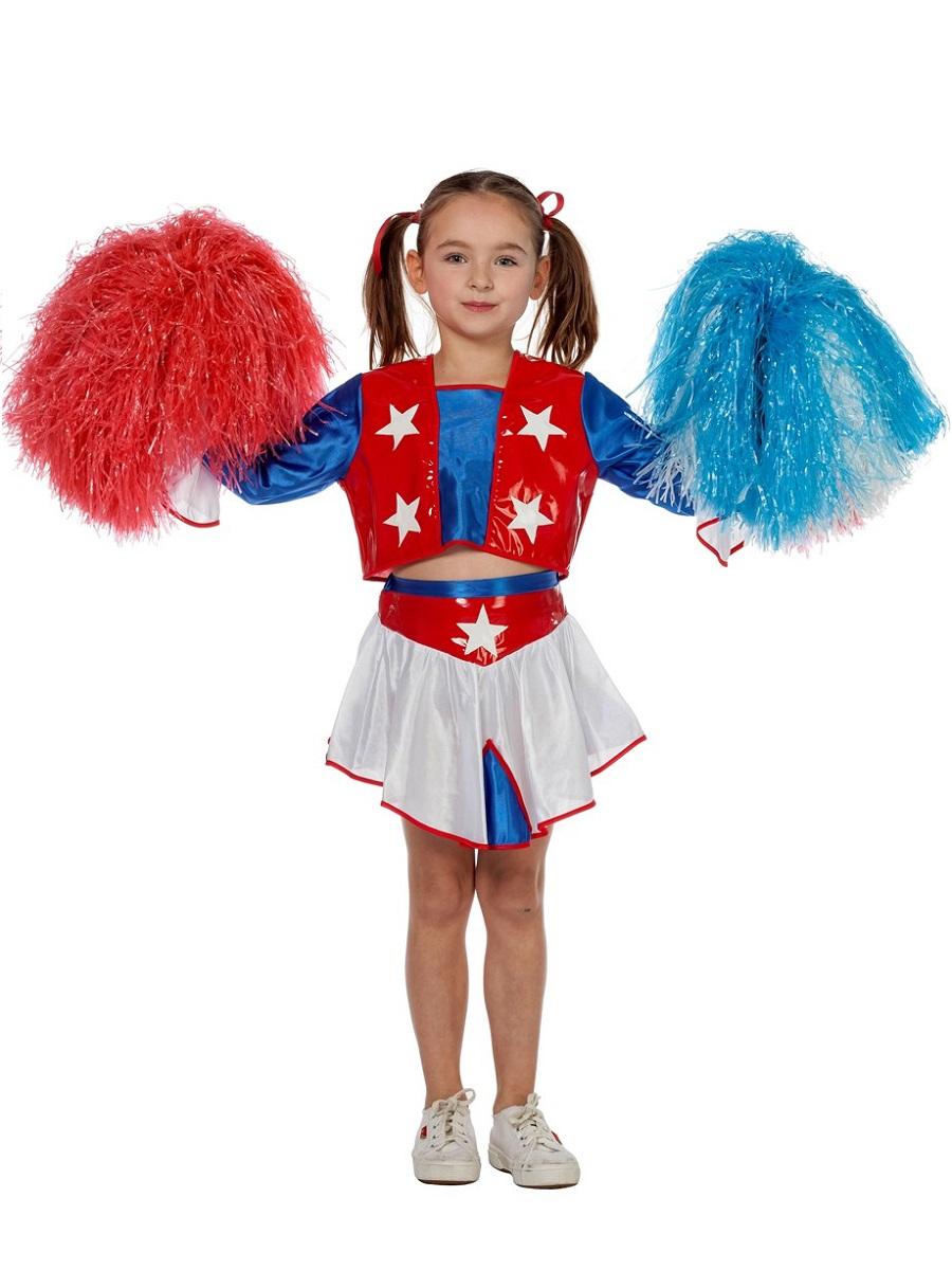 Child Cheerleader Costume 3595 Fancy Dress Ball