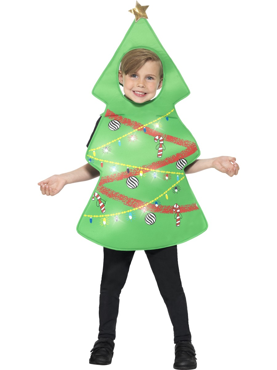 Child Light Up Christmas Tree Costume 21790 Fancy