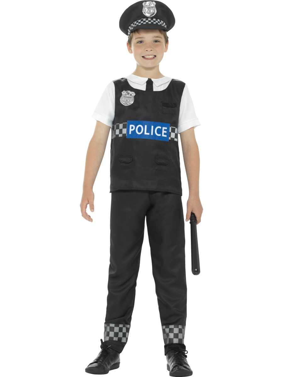 Cop Costumes For  Year Old Kids Boys