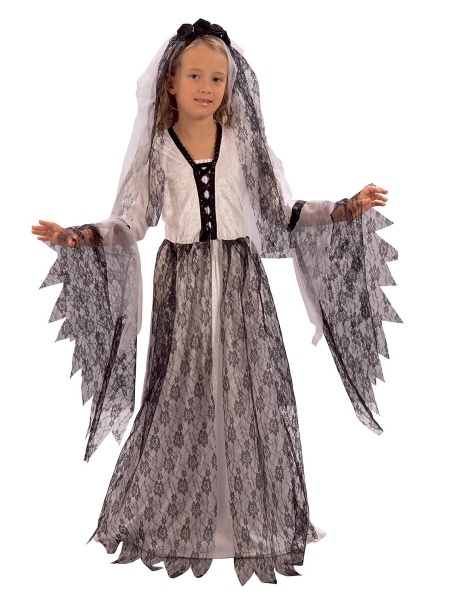 Child Corpse Bride Costume Cc641 Fancy Dress Ball