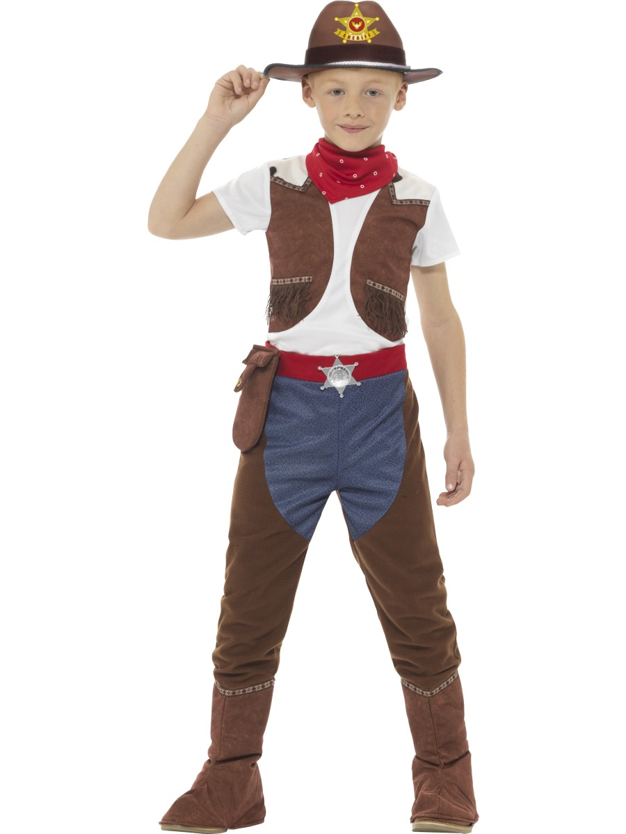 child cowboy costume 48208 fancy dress ball. Black Bedroom Furniture Sets. Home Design Ideas