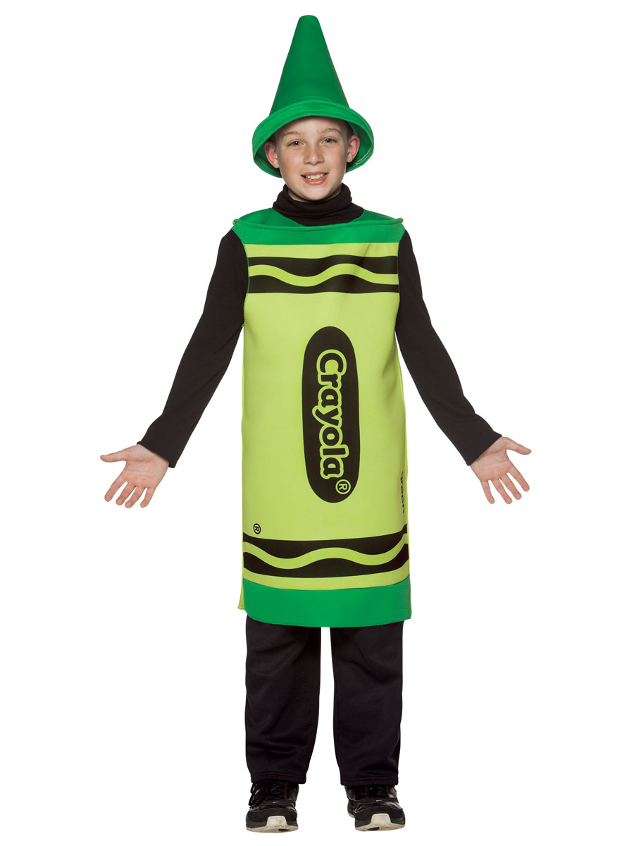 Child Crayola Crayon Green Costume 7 10 Yrs 4450604  sc 1 st  Meningrey & Crayola Costume Kids - Meningrey