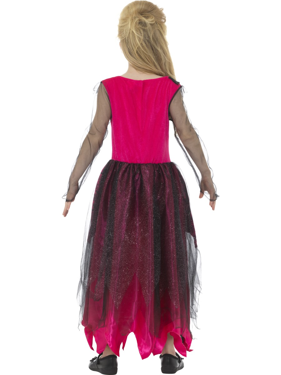 Child Deluxe Gothic Prom Queen Costume 48136 Fancy