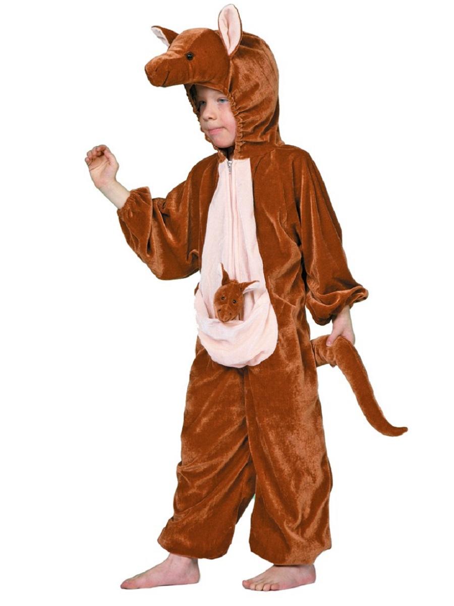 Child Deluxe Kangaroo Costume 99308 Fancy Dress Ball