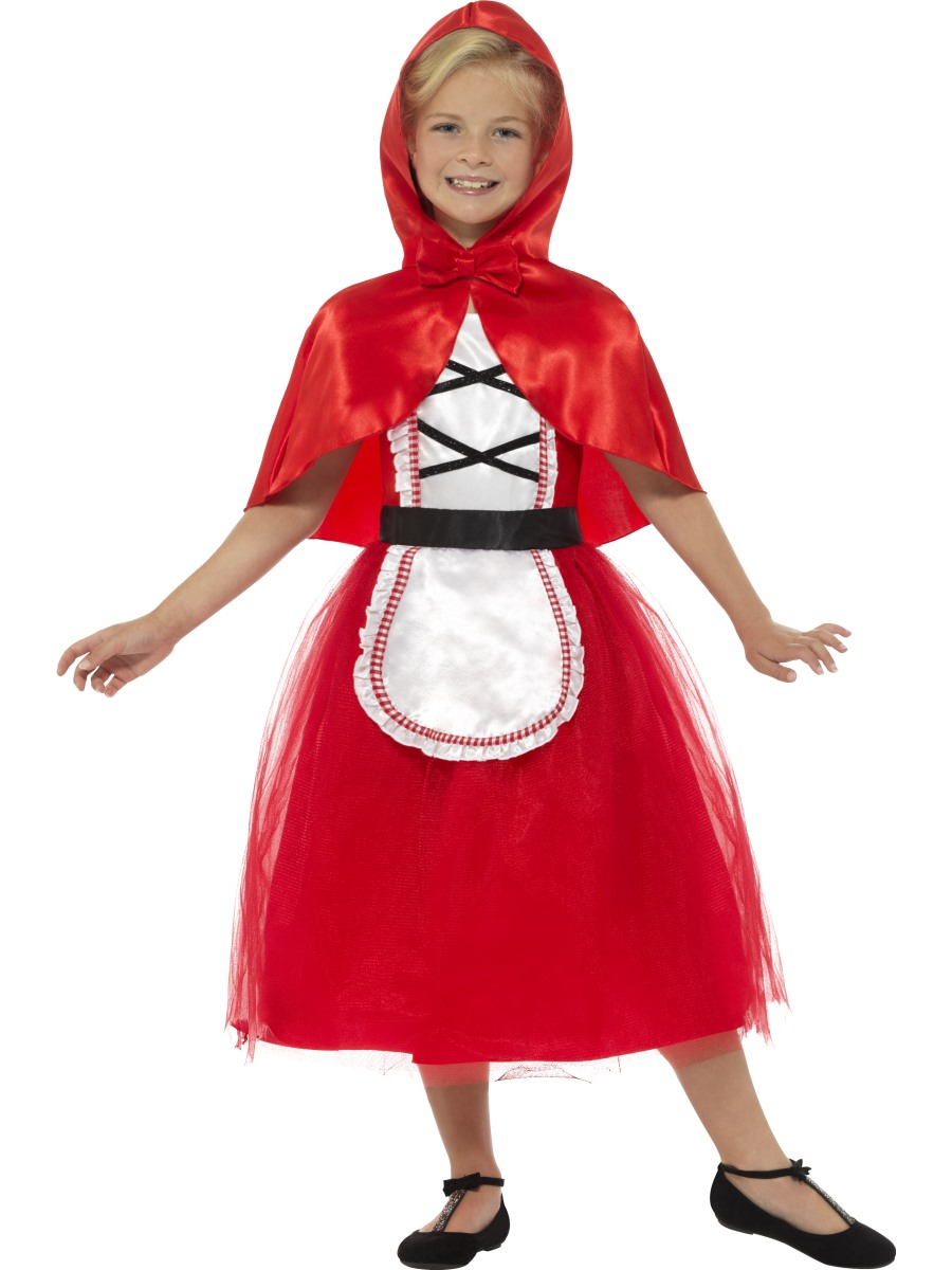 Child Deluxe Red Riding Hood Costume 22496 Fancy Dress