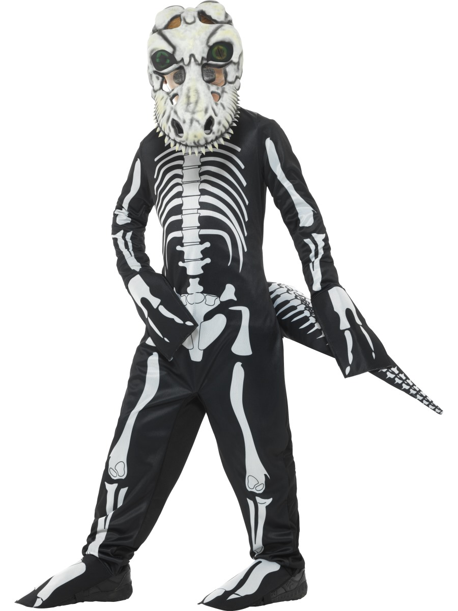 Child Deluxe T-Rex Skeleton Costume  sc 1 st  Fancy Dress Ball & Skeleton Fancy Dress Skeleton Costumes Ghost Costumes Ghost Fancy ...