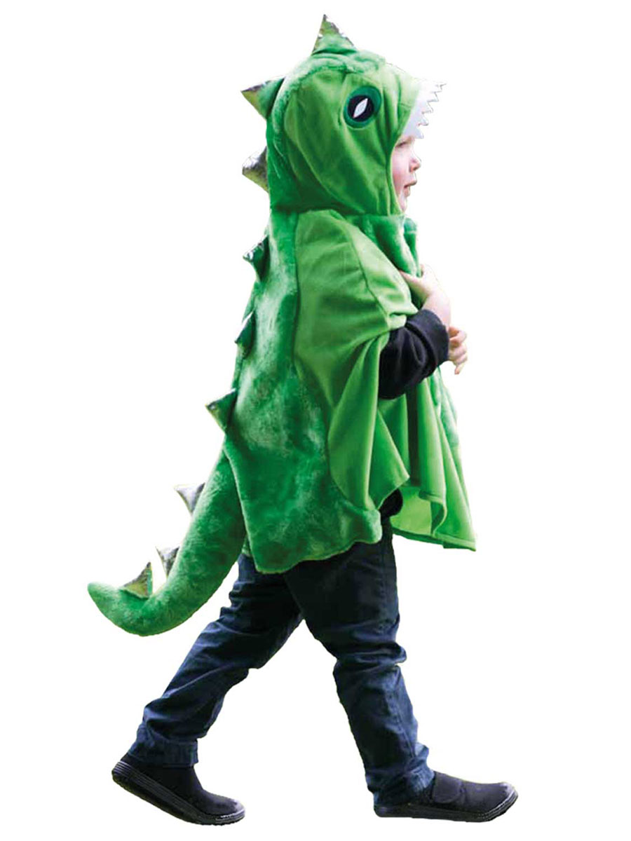 Child Dinosaur Cape Trdin Tod Fancy Dress Ball