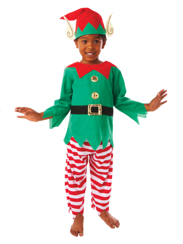 Elf Boy Costume Fancy Dress Ball