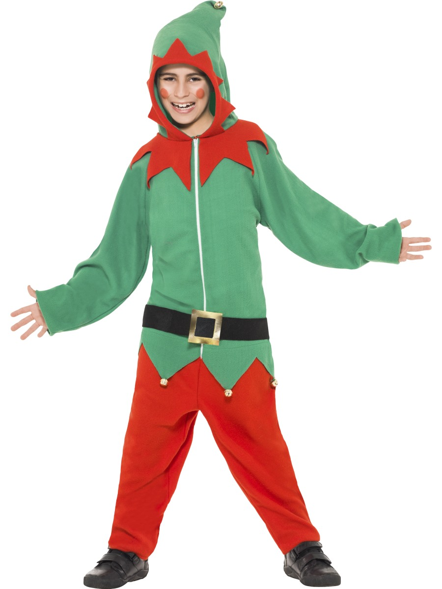 Child elf onesie costume 39800 fancy dress ball