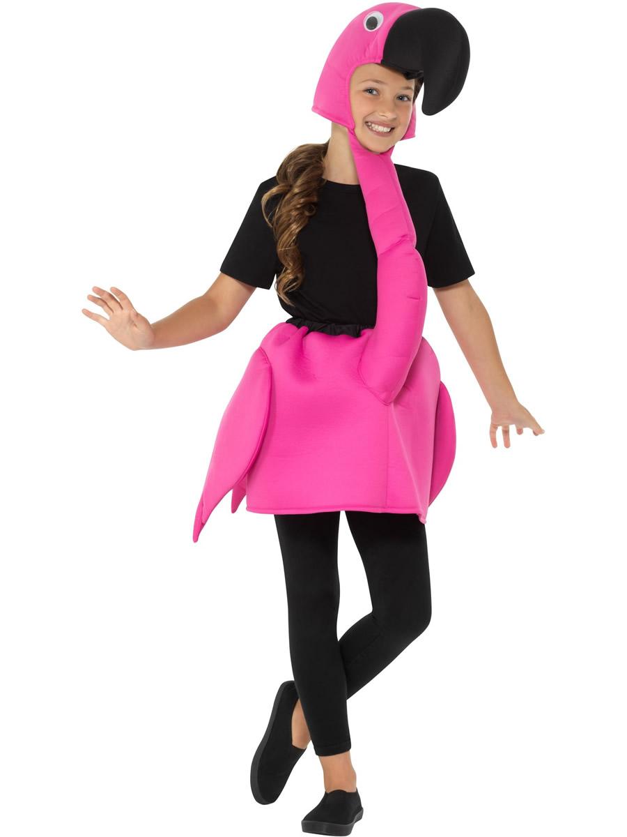 Child Flamingo Costume 49747 Fancy Dress Ball