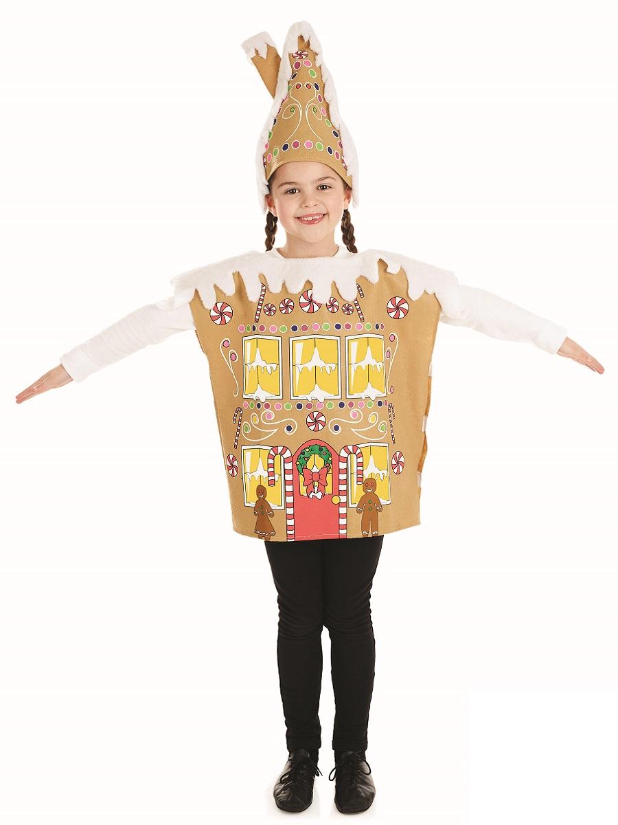 Child gingerbread house costume fs fancy dress ball