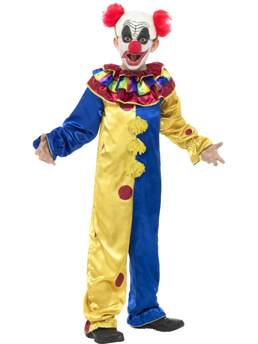 child goosebumps clown costume 42952 fancy dress ball. Black Bedroom Furniture Sets. Home Design Ideas