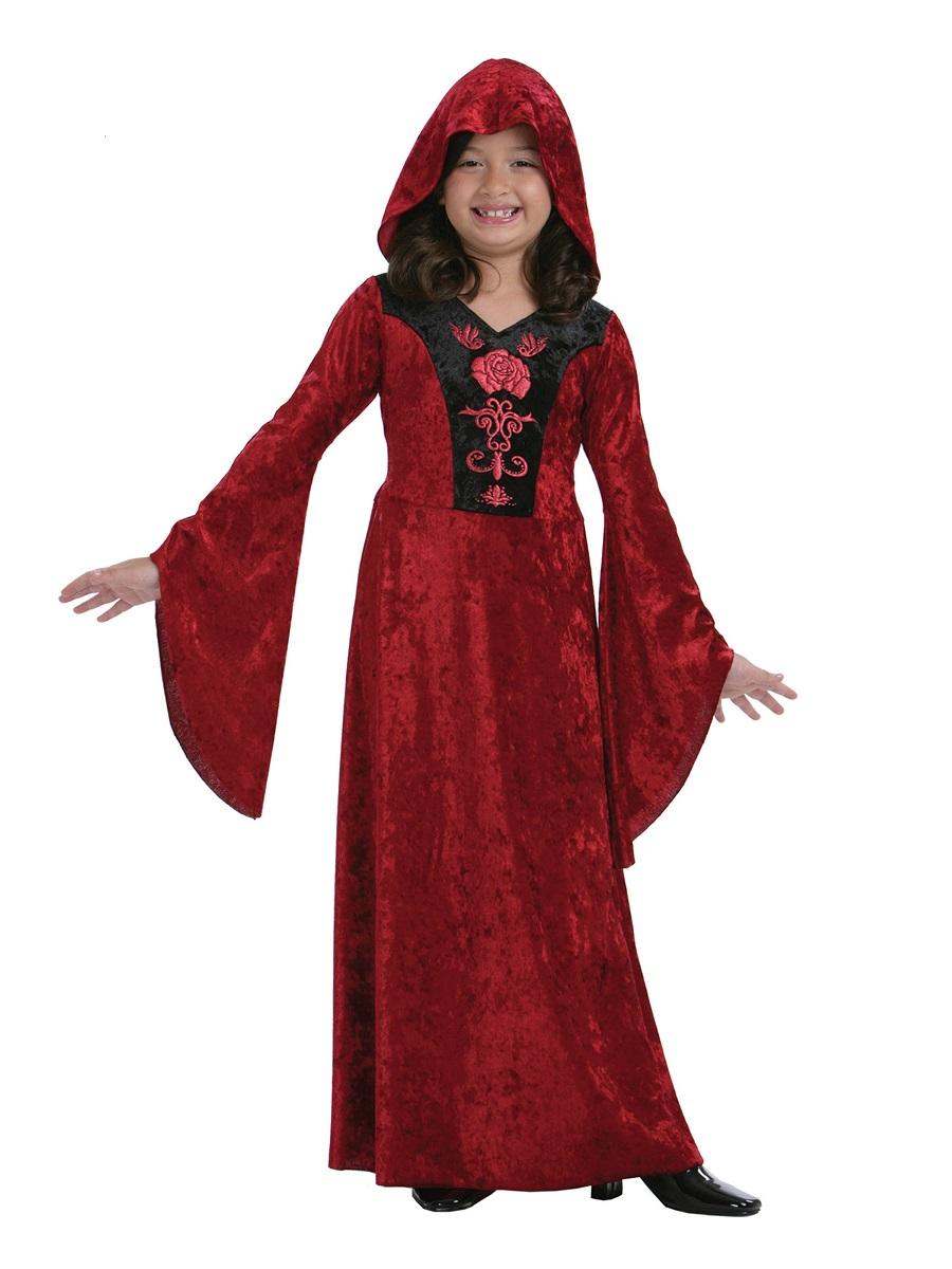 Child Gothic Vampiress Costume Cc426 Fancy Dress Ball