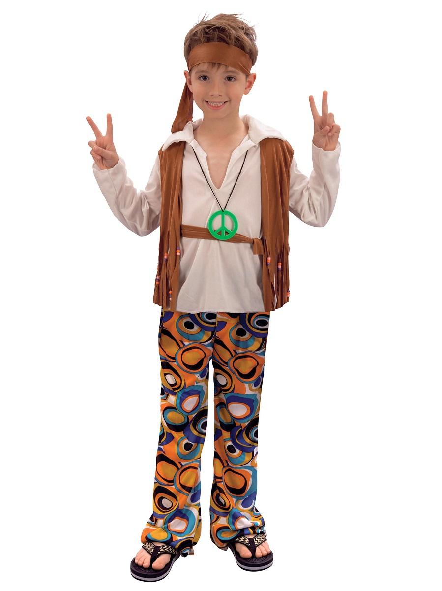 Child Hippy Boy Costume - CC620 - Fancy Dress Ball