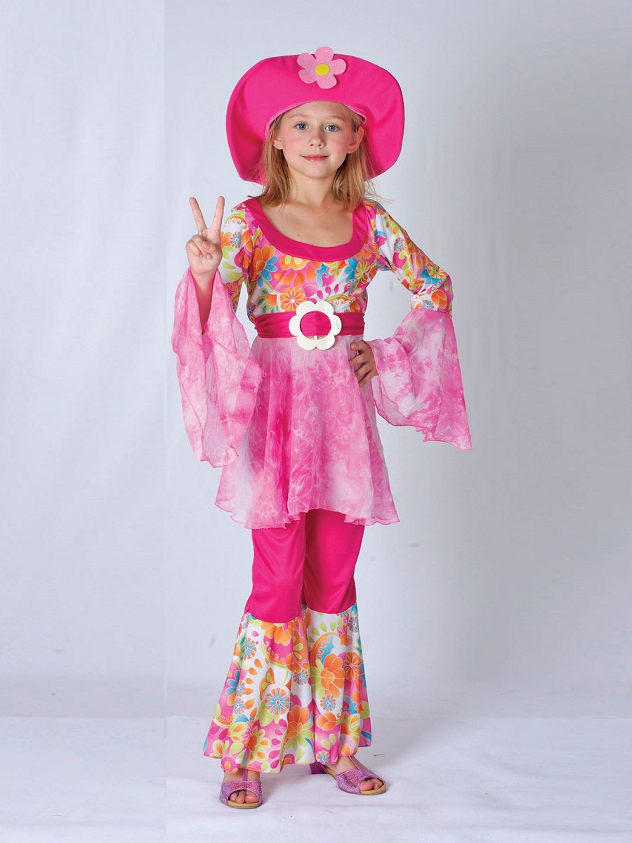Child hippy diva costume cc907 fancy dress ball for Diva attire