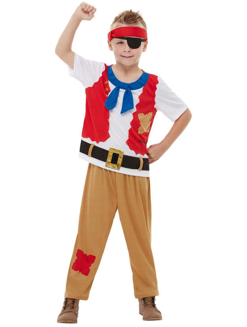 Kids Curved Pirate Sword World Book Day Pirate Fancy Dress Costume Accessory