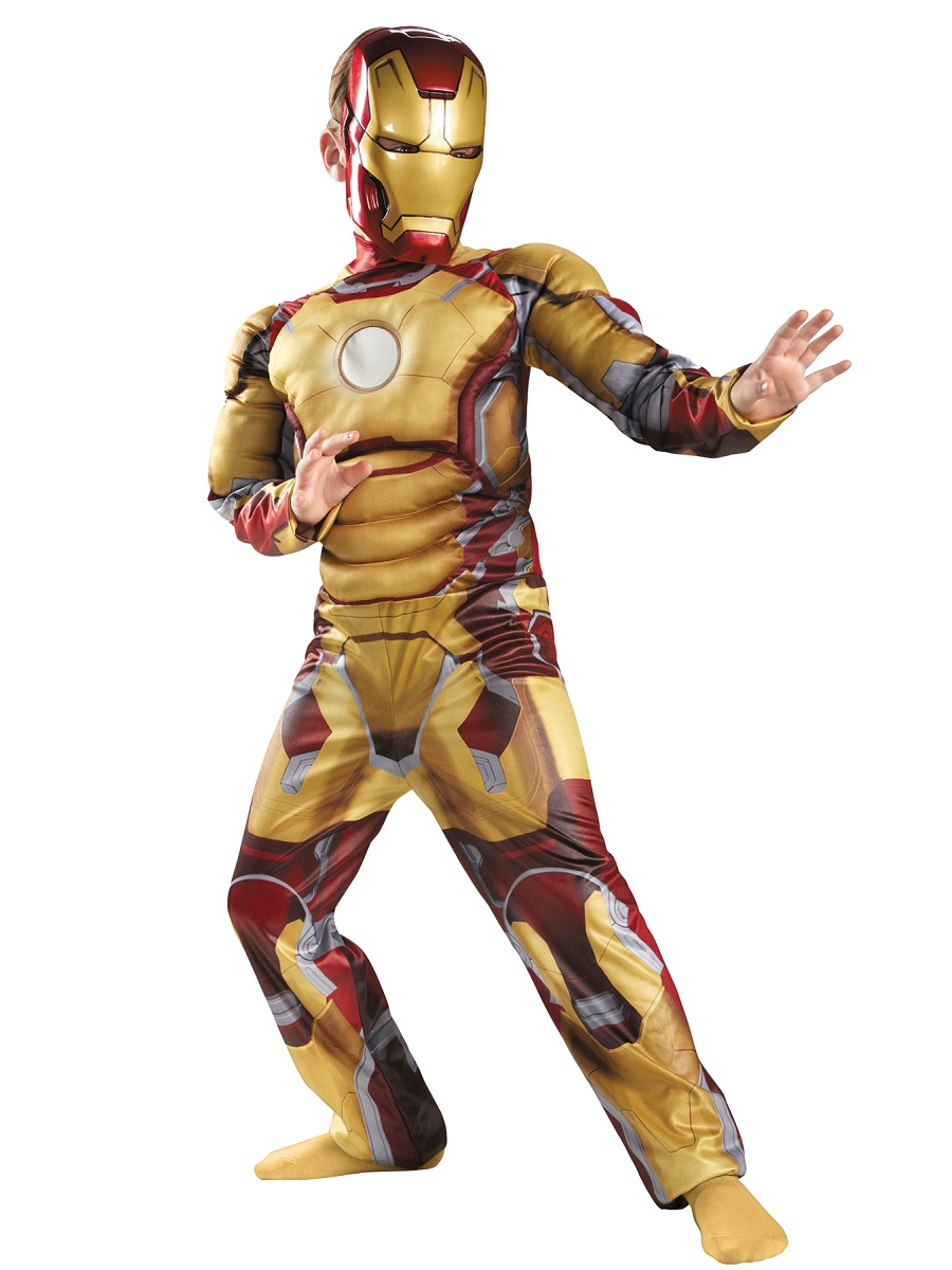 child iron man 3 mark 42 avengers costume 76507 fancy dress ball. Black Bedroom Furniture Sets. Home Design Ideas