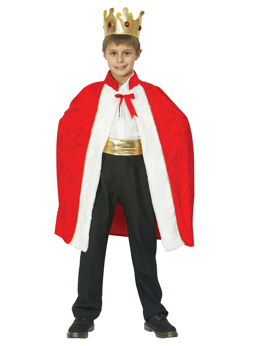 Child Kings Robe Costume