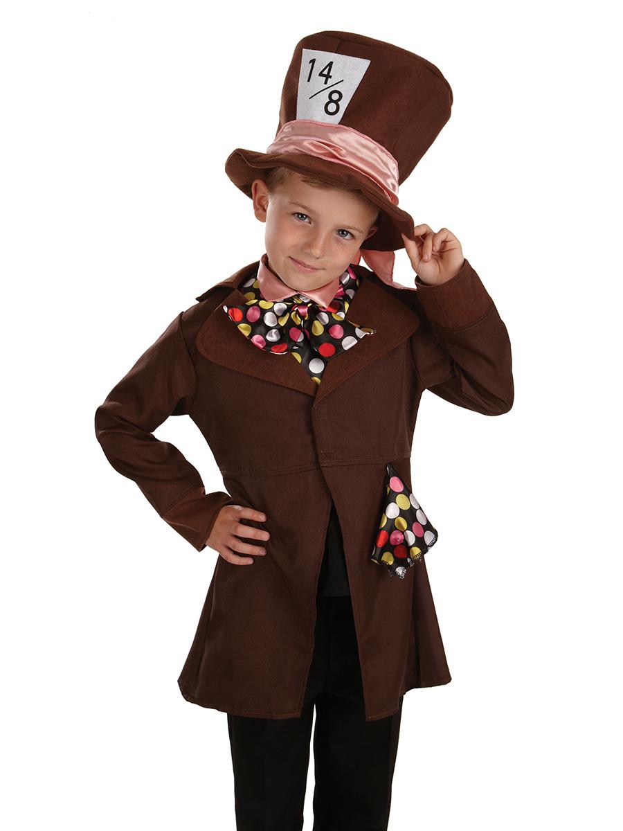 Little Mad Hatter Costume Fancy Dress Ball