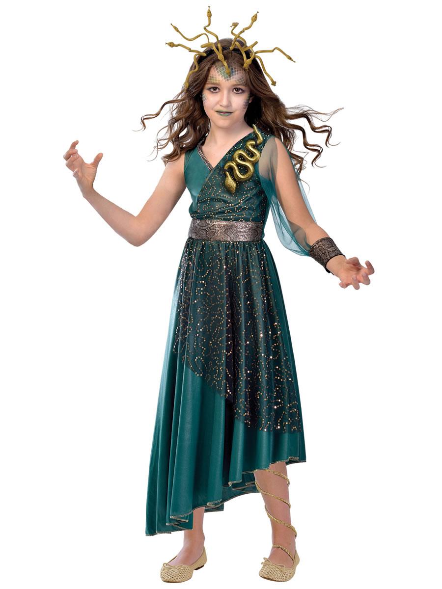 Child Medusa Costume 9903556 Fancy Dress Ball