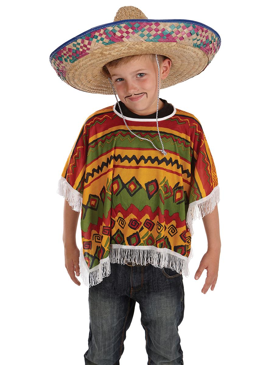 Child Mexican Poncho - FS3744 - Fancy Dress Ball