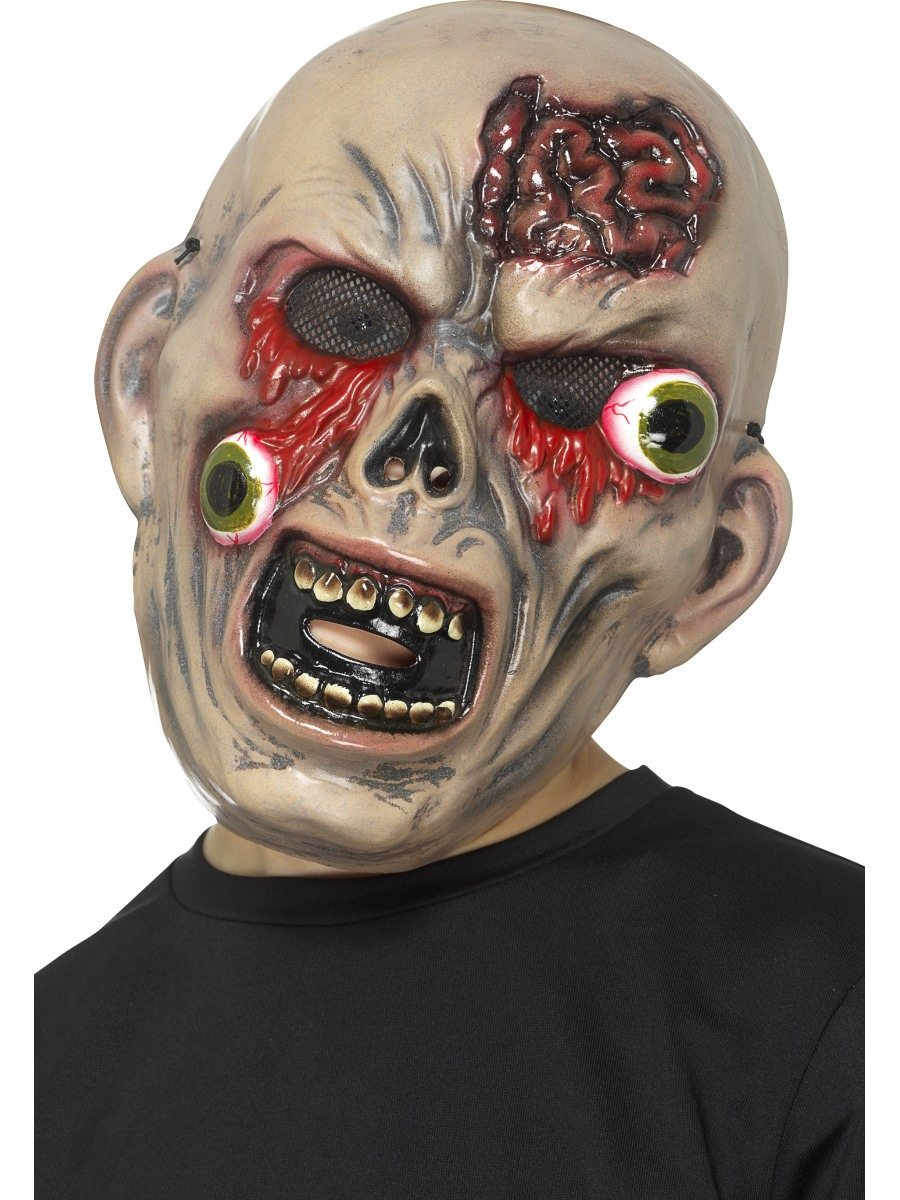 Child Monster Mask With Bulging Eyes 48009 Fancy Dress