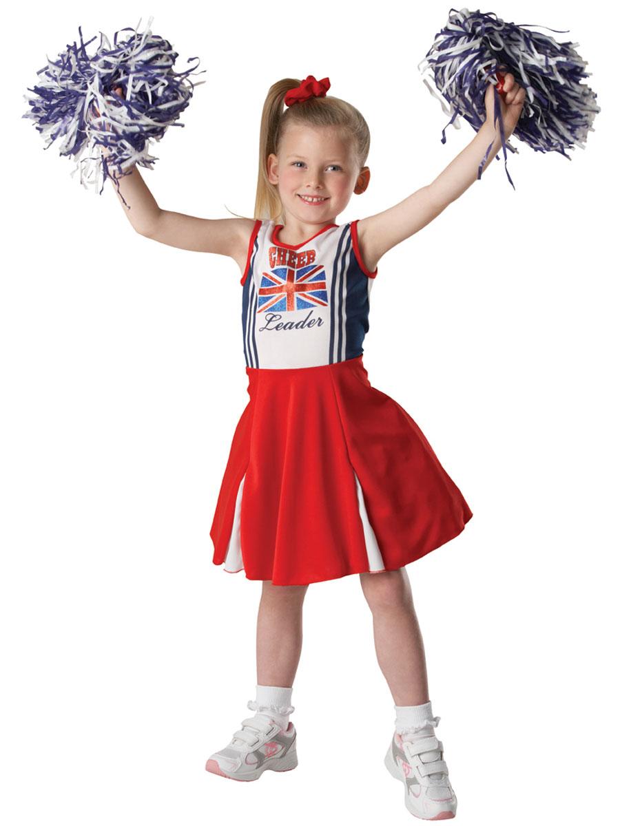 Child Patriotic Cheerleader Costume - 881835 - Fancy Dress Ball