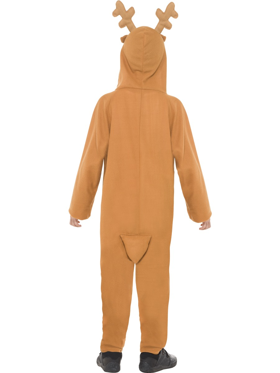 Child reindeer onesie costume 39801 fancy dress ball