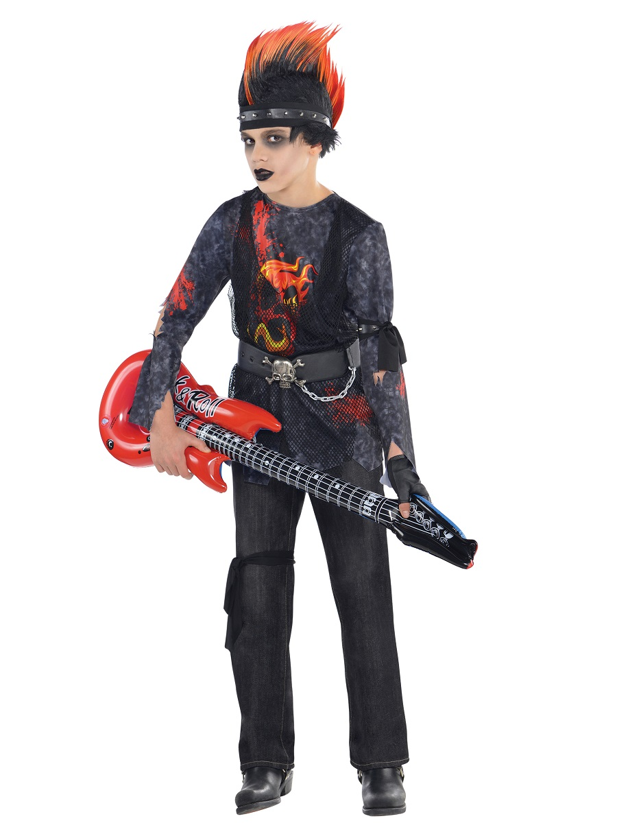 Child Rock Zombie Costume 999640 Fancy Dress Ball