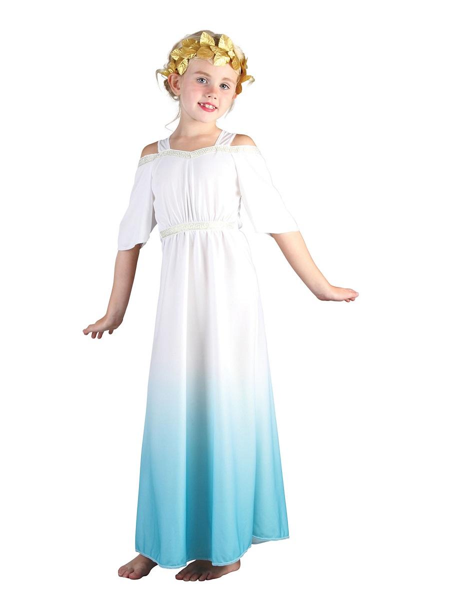 Child roman goddess costume cc930 fancy dress ball