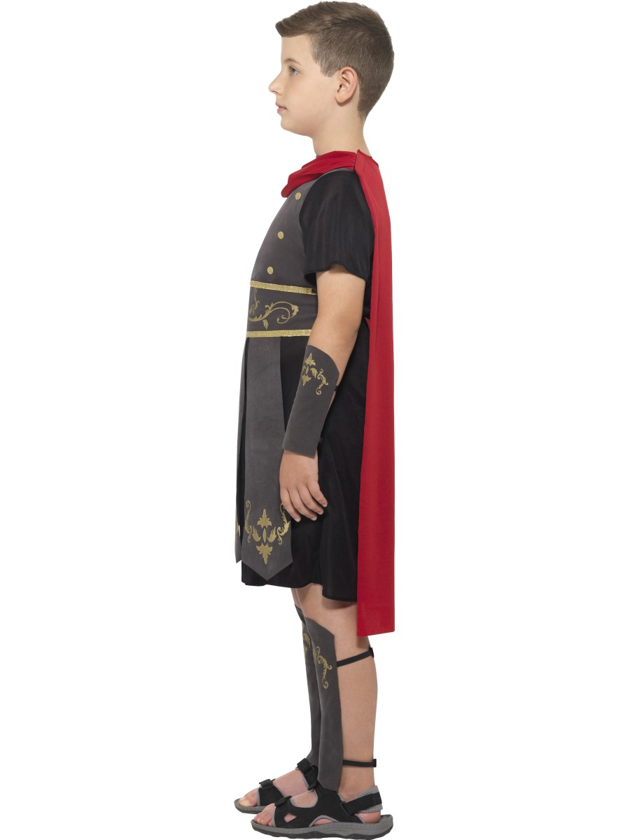 how to make a roman soldier costume for a boy