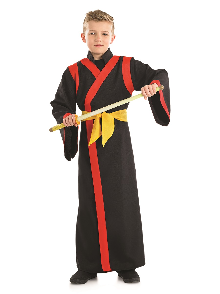Child Samurai Boy Costume FS4018 Fancy Dress Ball