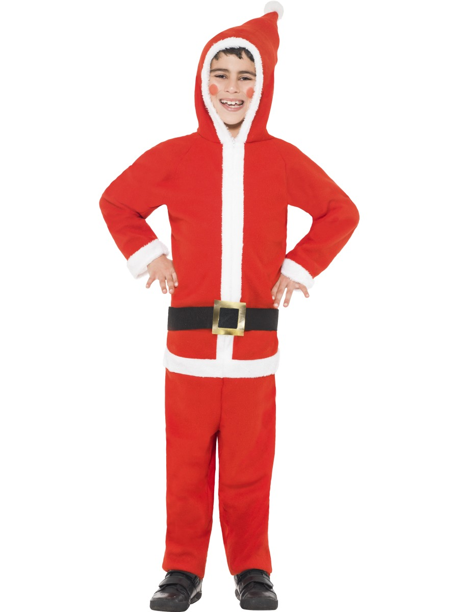 Child Santa Onesie Costume - 33742 - Fancy Dress Ball d64398cfd5d9
