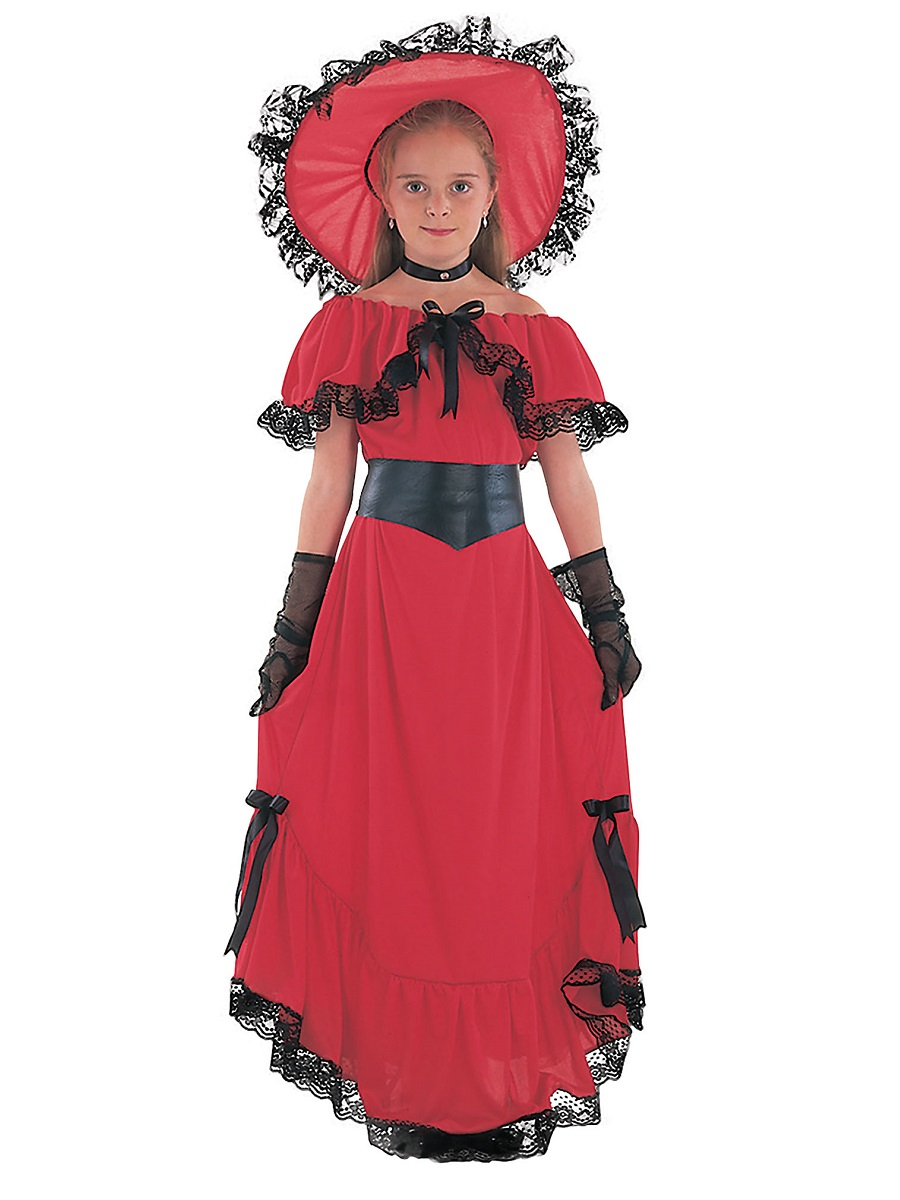 Child Scarlet O Hara Costume - CC405 - Fancy Dress Ball 854b984b4