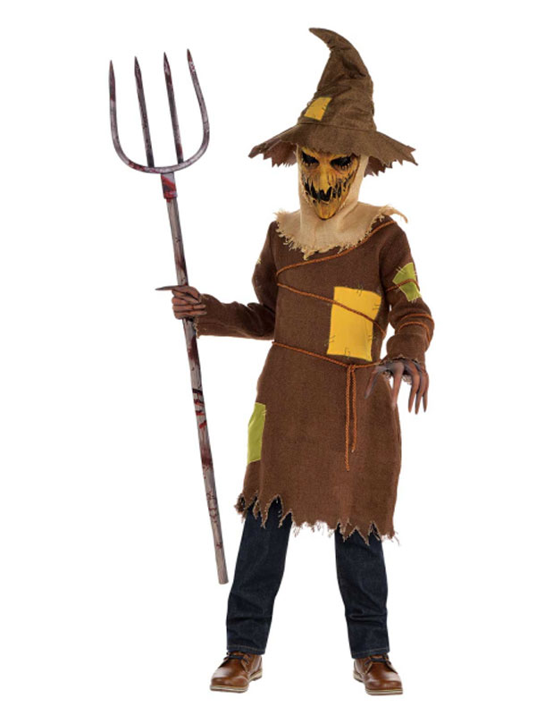 Child Scary Scarecrow Costume 9902436 Fancy Dress Ball