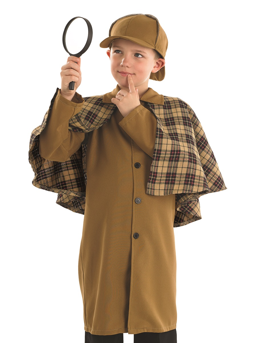 Child Sherlock Holmes Costume - FS3997 - Fancy Dress Ball