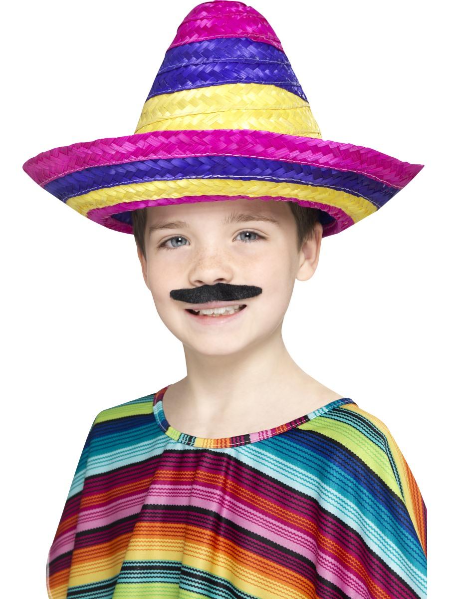 Child Sombrero Hat 44311 Fancy Dress Ball