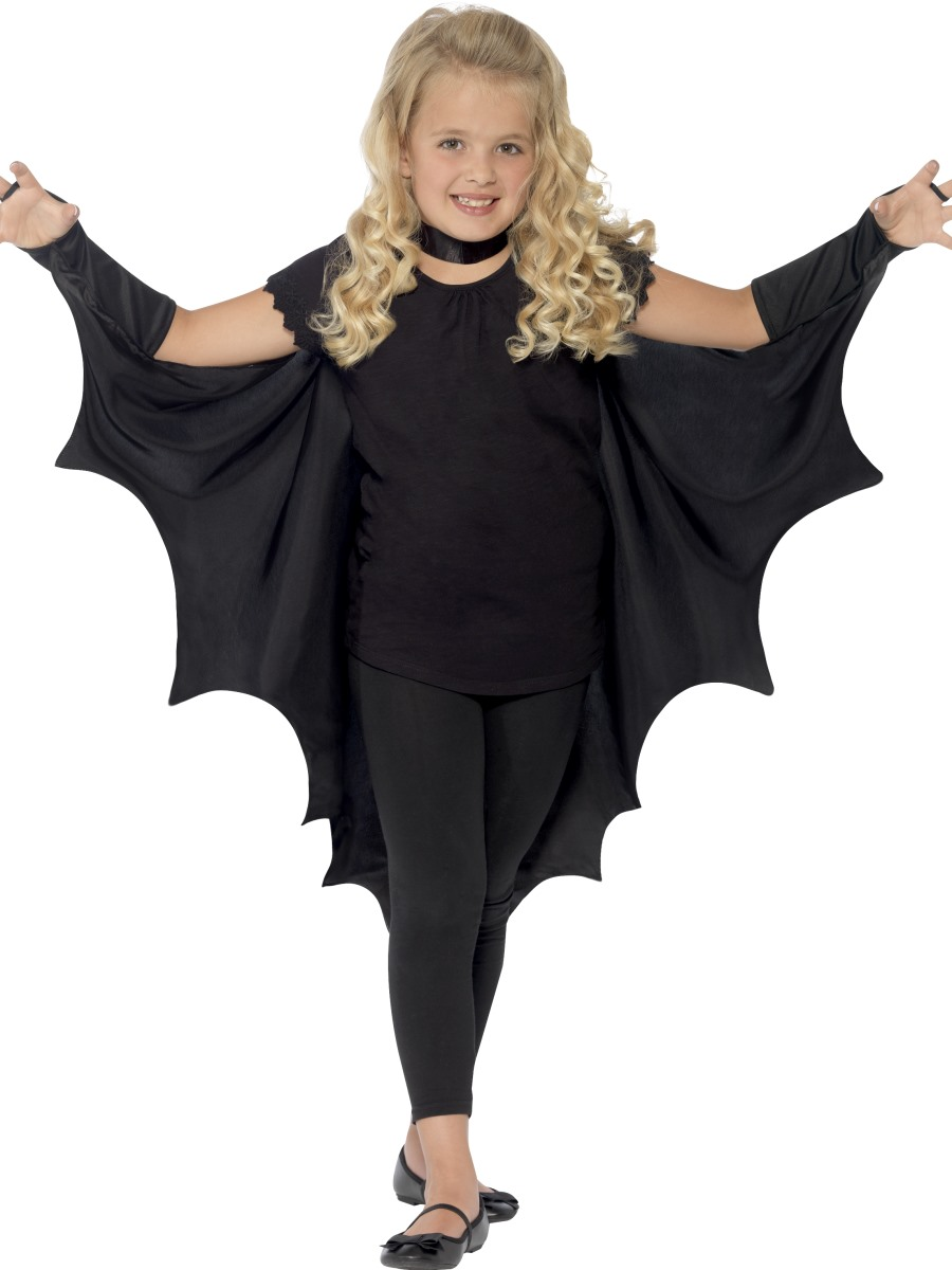 child vampire bat wings 44414 fancy dress ball. Black Bedroom Furniture Sets. Home Design Ideas