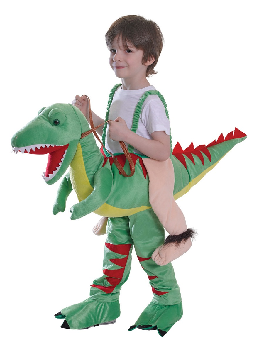Child Step In Dinosaur Costume - CC044 - Fancy Dress Ball