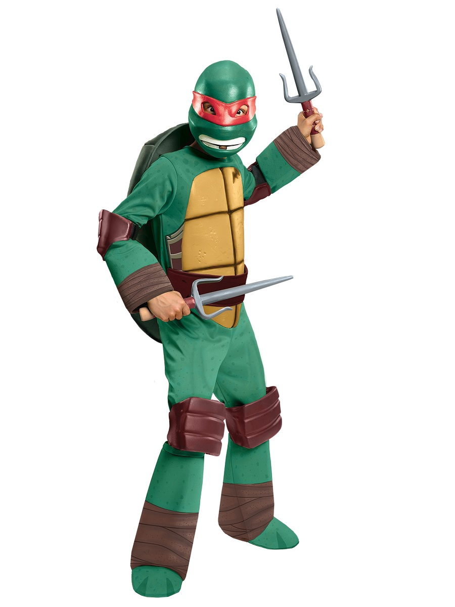 child teenage mutant ninja turtles deluxe raphael costume 886762 fancy dress ball. Black Bedroom Furniture Sets. Home Design Ideas