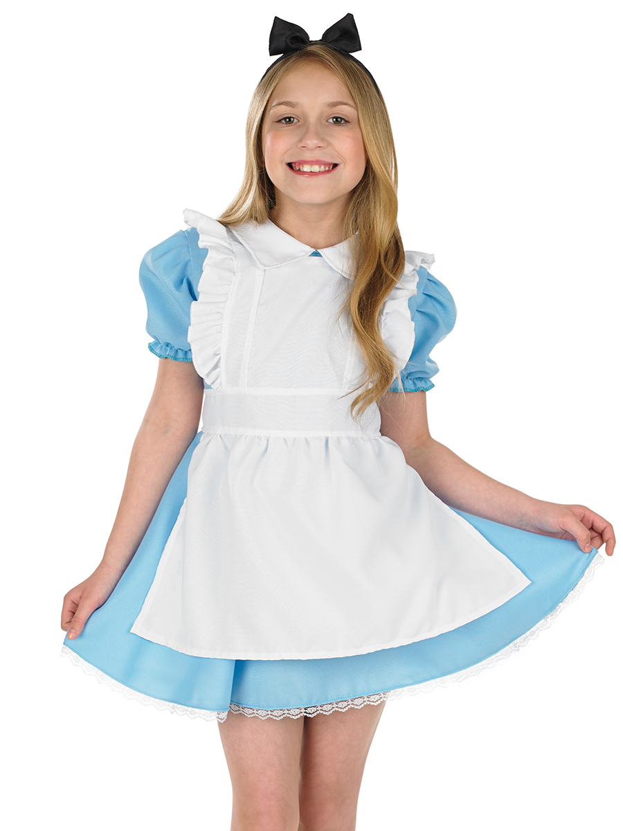 Alice Childrens Fancy Dress Up World Book Day Halloween