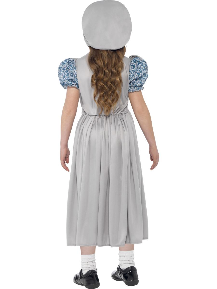 Child Victorian School Girl Costume 27532 Fancy Dress Ball