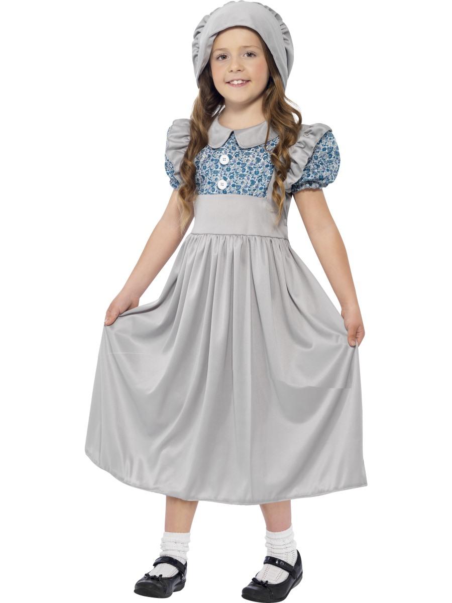 Child Victorian School Girl Costume