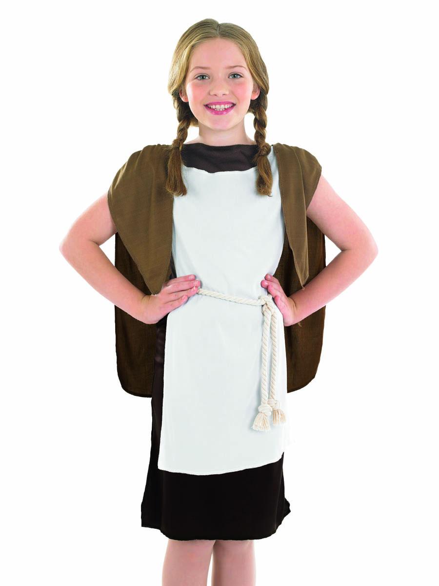 Viking Girl Costume Fancy Dress Ball