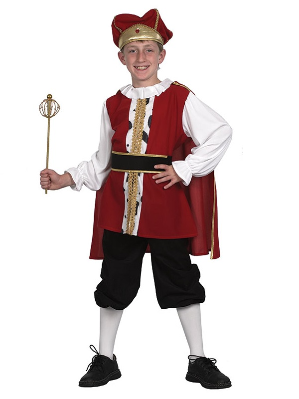 Child Medieval King Henry Costume Cc558 Fancy Dress Ball