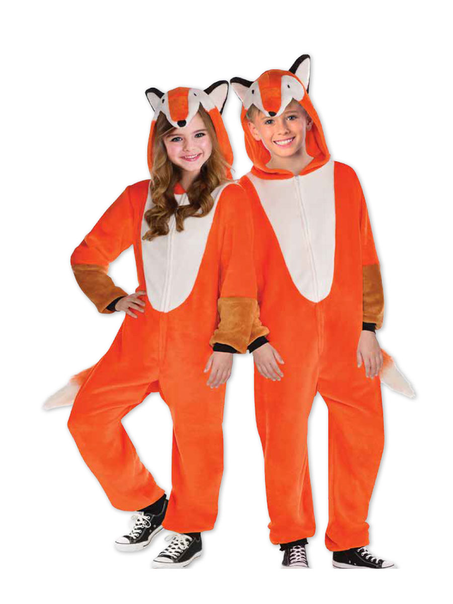Child Zipster Foxy Costume  sc 1 st  Fancy Dress Ball : foxy costume  - Germanpascual.Com