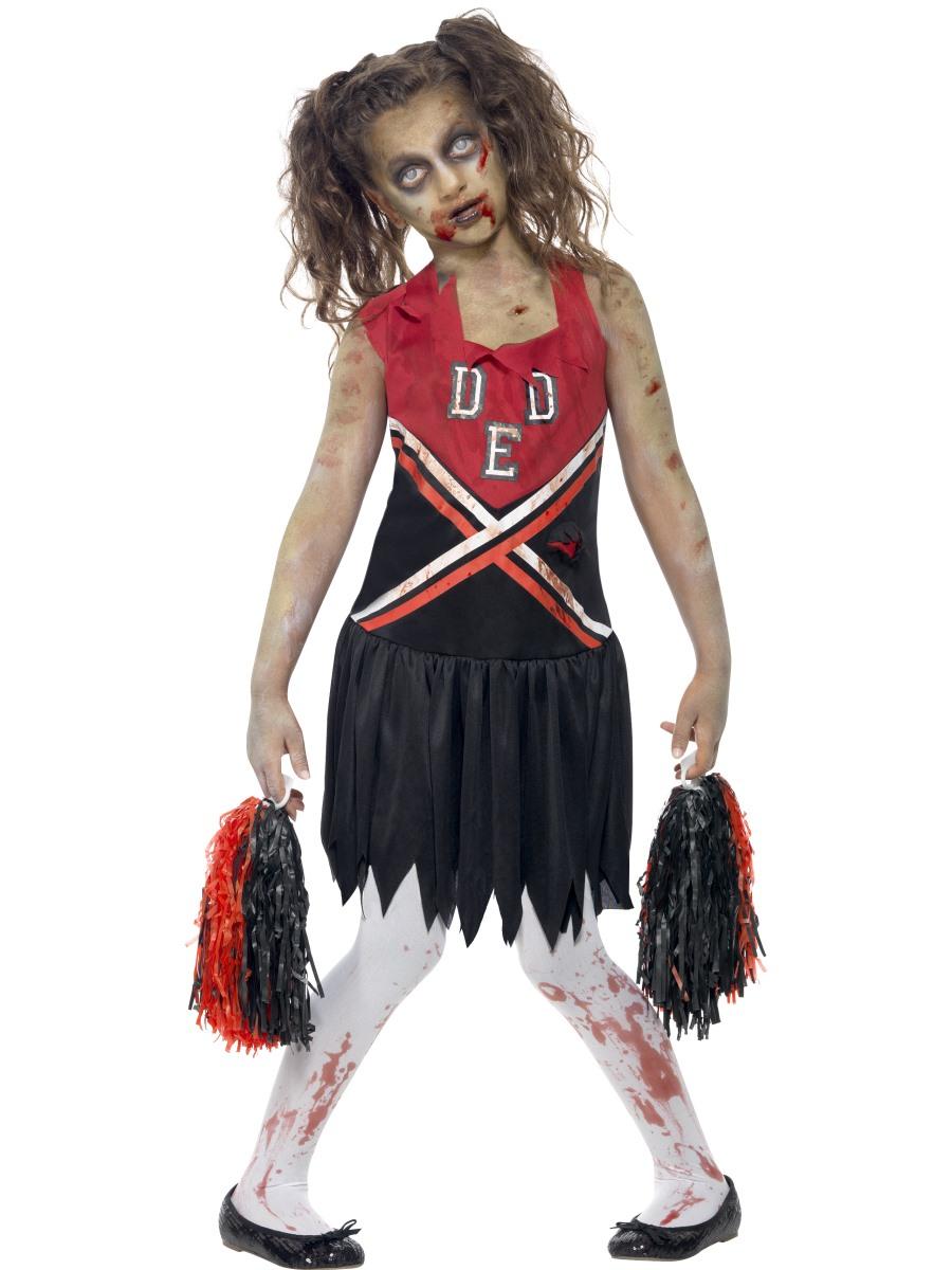 Child Zombie Cheerleader Costume