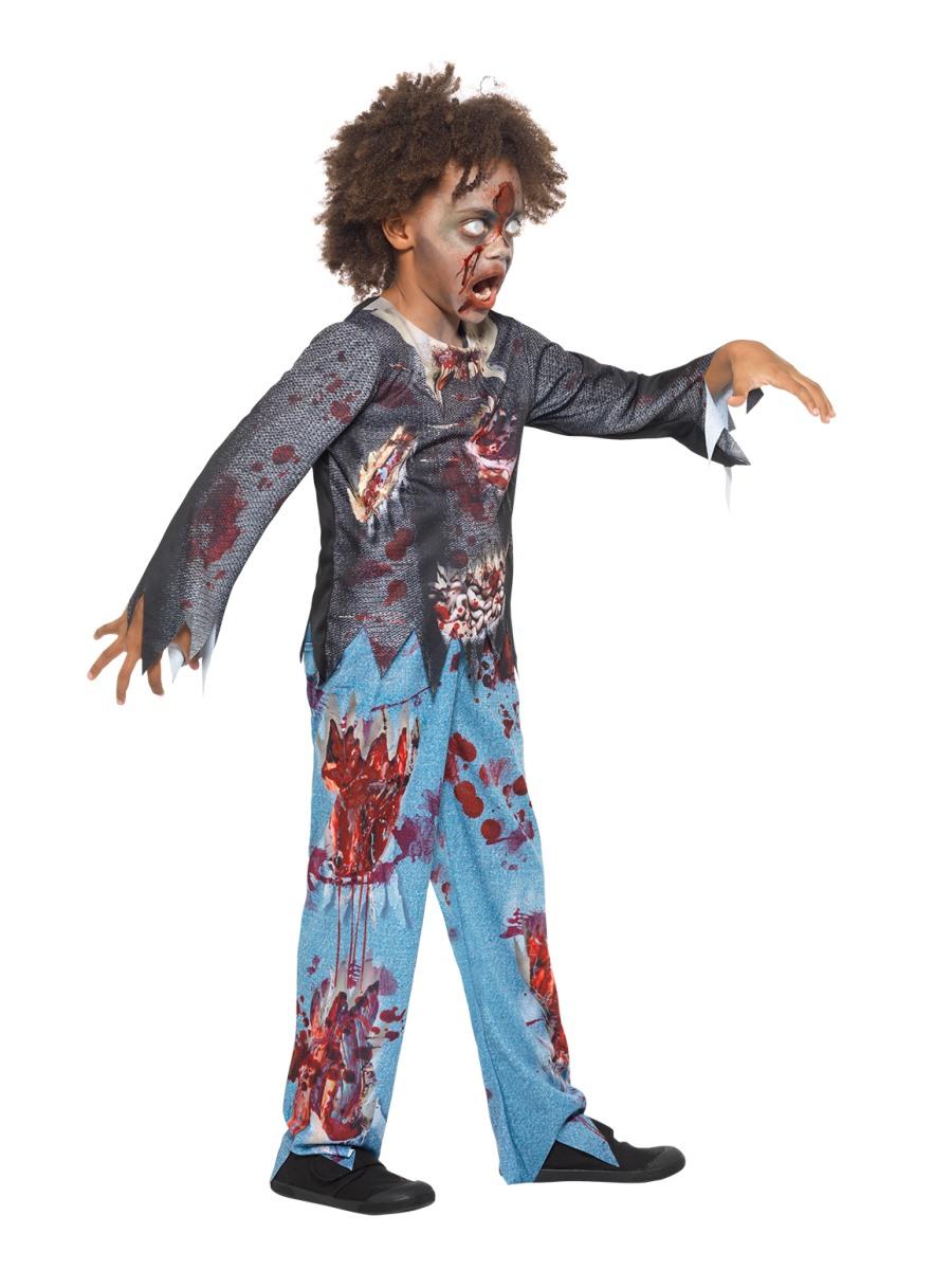 Child Zombie Costume 49842 Fancy Dress Ball